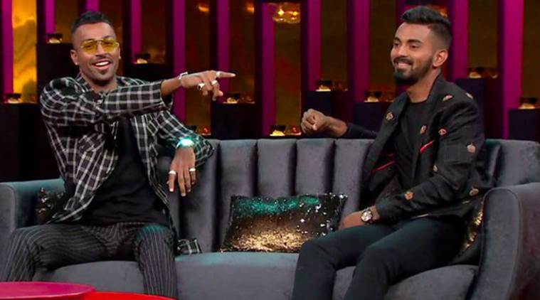 BCCI fines Hardik Pandya, KL Rahul Rs 20 lakh each for talk show comments