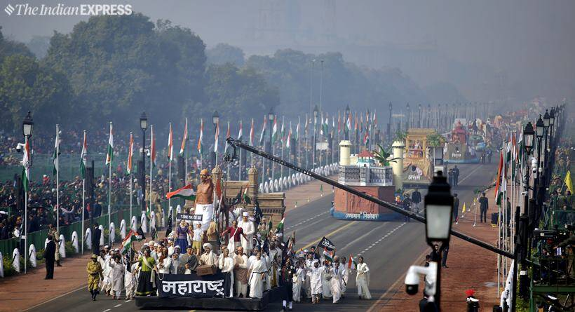 See photos of full dress rehearsal for Republic Day parade at Rajpath
