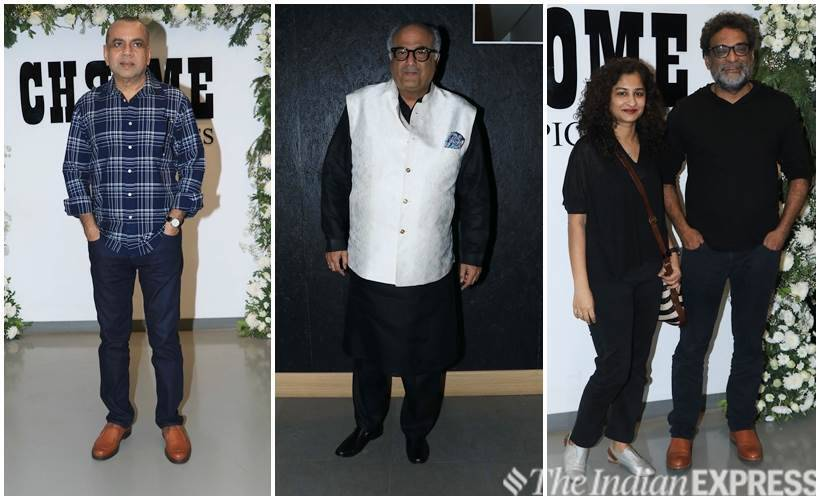 paresh rawal, boney kapoor, gauri shinde and r. balki