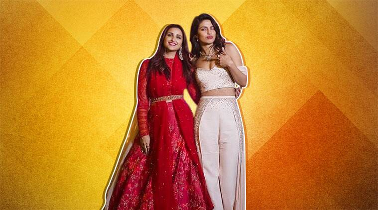 Parineeti Chopra Dazzles In Red At Sister Priyanka Chopra Jonas