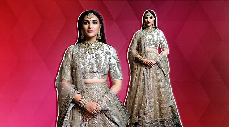 Parineeti Chopra Looked Regal In A Sabyasachi Lehenga At Priyanka