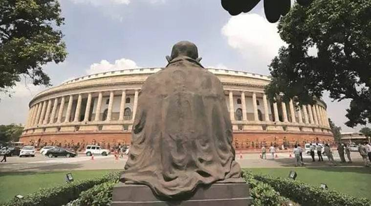 Indian democracy, Mahatma Gandhi, Mahatma Gandhi teachings, indian parliament, indian express