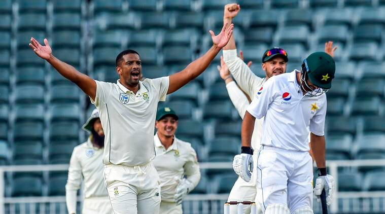 South Africa vs Pakistan 3rd Test Day 2 Live Cricket Score: South Africa take on Pakistan. (Source: AP)