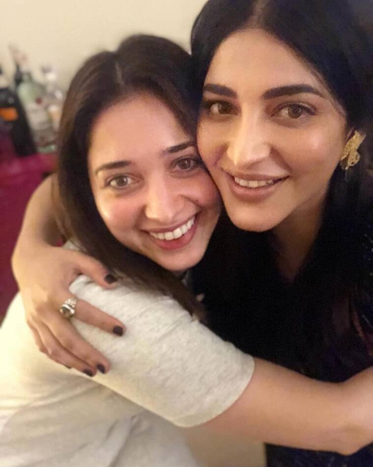 tamannaah with shruti haasan