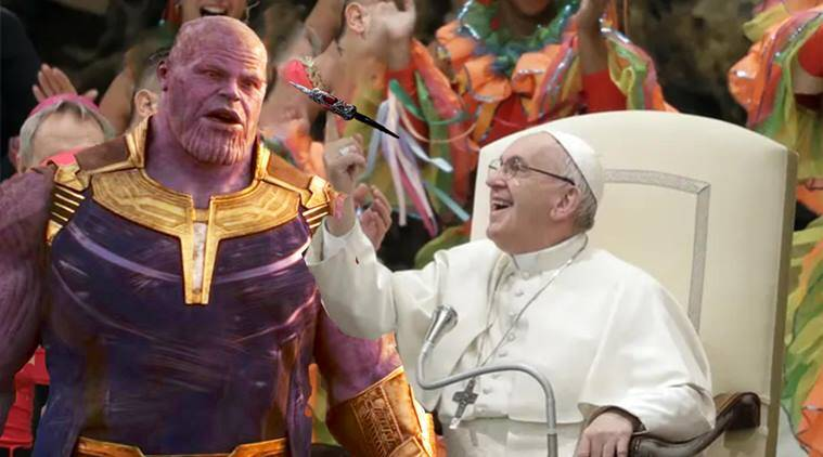 Pope Francis Triggers Photoshop Battle After Spinning Football On