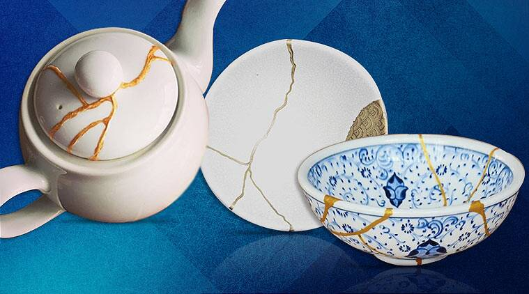 Kintsugi, Japanese art of Kintsugi