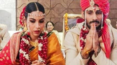 prateik babbar marries sanya sagar