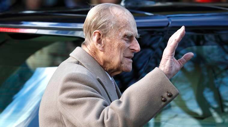 UK's Prince Philip, 97, escapes unhurt from car crash