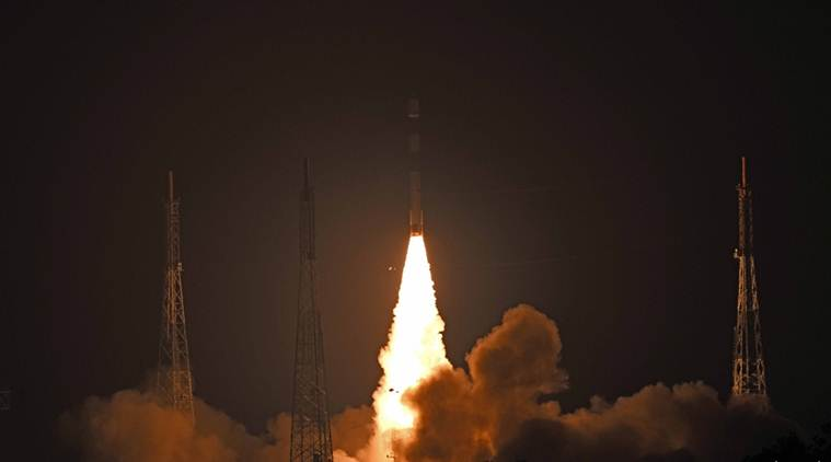 India's PSLV-C44 Successfully Launches Two Satellites Microsat-R, Kalamsat-V2