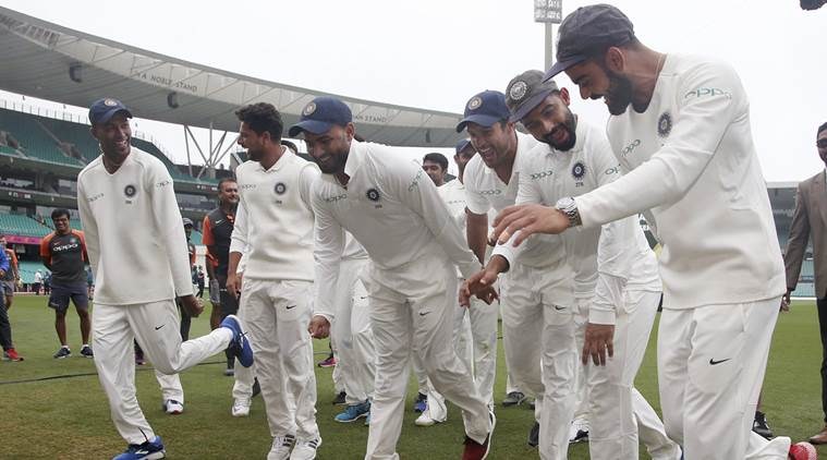 WATCH: India celebrate historic series win in Australia with 'Pujara dance'