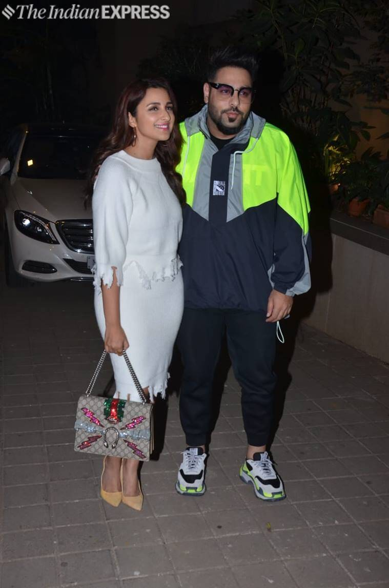 parineeti chopra and badshah punit malhotra bash