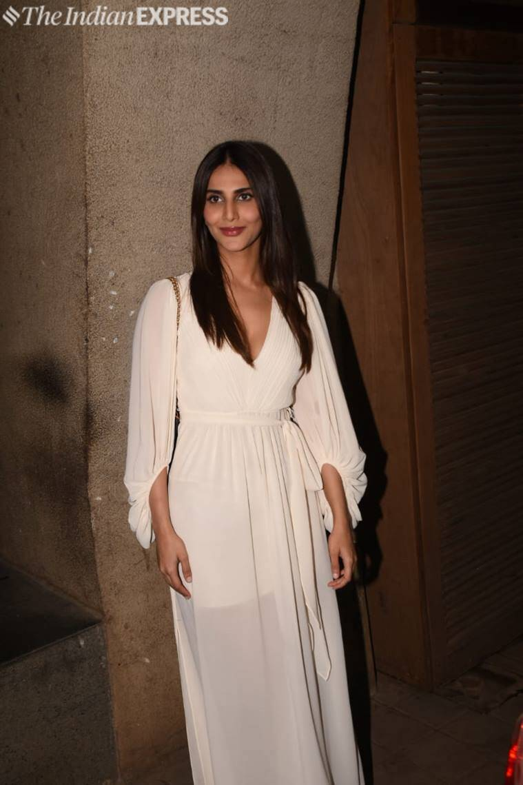 vaani kapoor at punit malhotra bash
