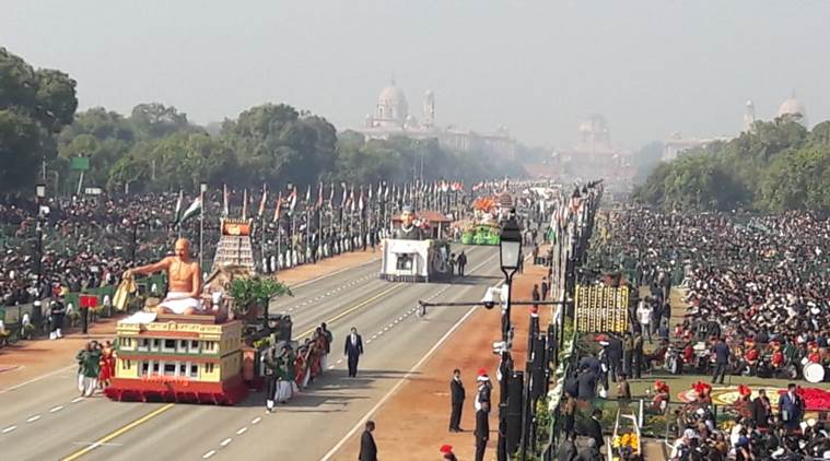 Republic Day 2019: Women contingent leads the way, parade highlights Mahatma Gandhi's life