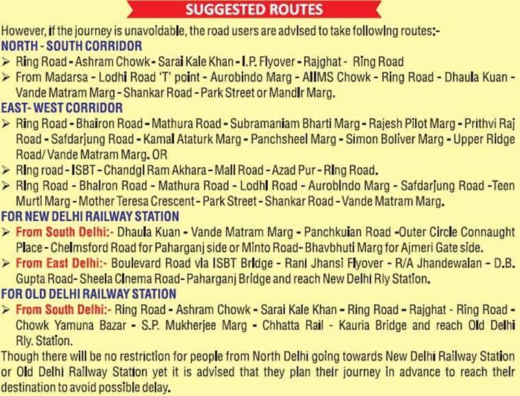 Republic Day 2019: Roads shut in Delhi, traffic diversions imposed