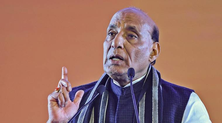 Bengal govt yet to give us land to fence off border with Bangladesh: Rajnath Singh