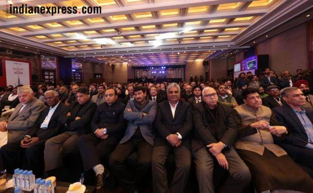 rng awards, ramnath goenka awards, rng awards 2018, rng awards 2019, rng awards winners, rng award photos, rajnath singh, ramnath goenka excellence in journalism awards