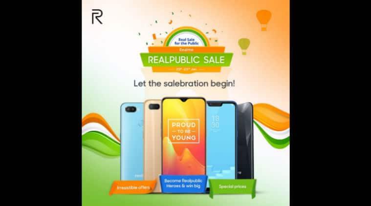 Realme sale, Realme Republic Day sale, Realpublic sale, Realme 2 Pro discount, Realme C1 discount, Realme U1 discount, Realme sale, Republic Day sale
