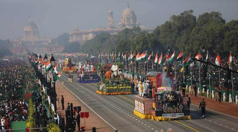 Republic Day 2019: India's rich culture, military might on display; President awards Ashok Chakra to Nazir Wani