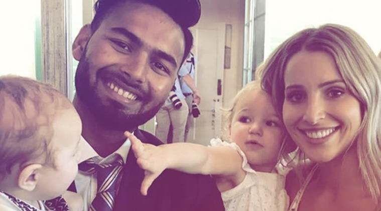Challenge accepted! Indias Rishabh Pant 'babysits for Tim Paines kids