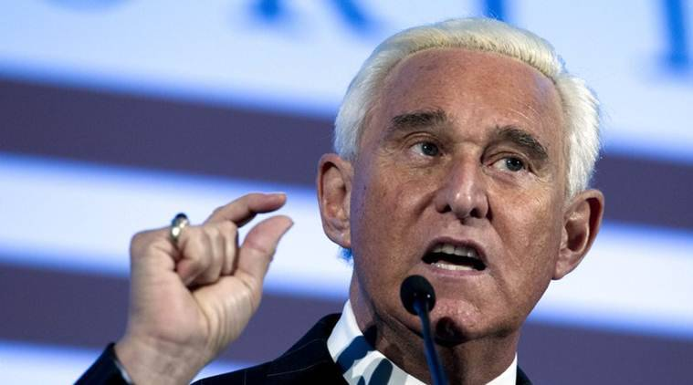 express explained, roger stone, roger stone convicted, donald trump, trump on roger stone, who is roger stone, indian express