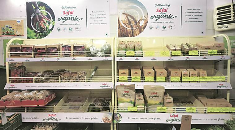Organic vegetables and fruits hit Safal shelves, sales yet to pick up