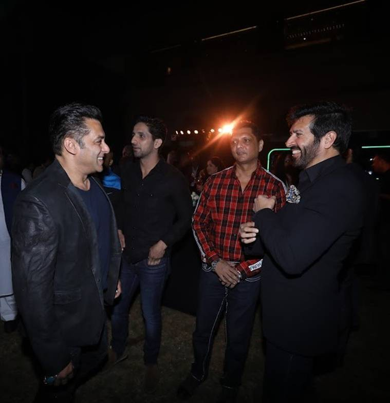 Salman Khan Hotstar Special launch bash