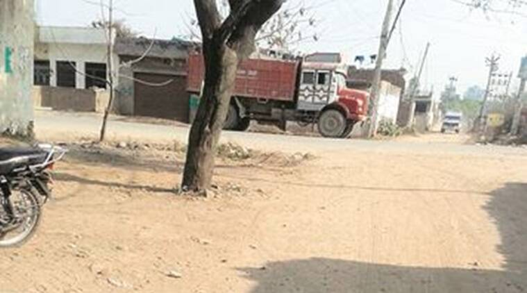 After removal of bridge, sand miners now use village ring road: Residents