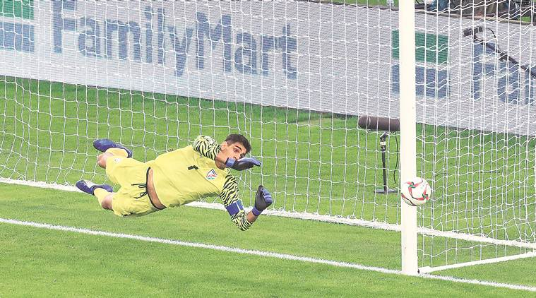 We were concentrating so much on not conceding that we couldn't attack: Gurpreet Singh Sandhu