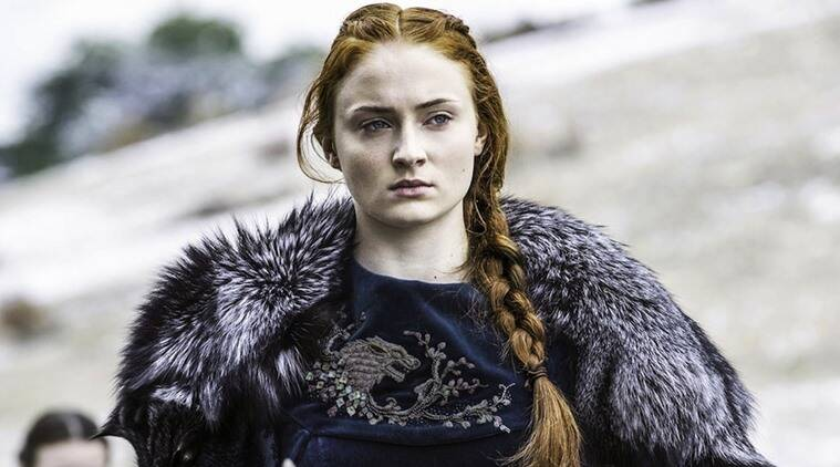 sophie turner was not allowed to wash her hair while working on game of thrones