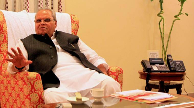 Satya Pal Malik, Jammu and Kashmir, Kashmir militancy, Kashmir conflict, Kashmir violence, Satya Pal Malik on Kashmir militants, Indian Express