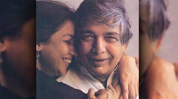 shabana azmi with father kaifi azmi