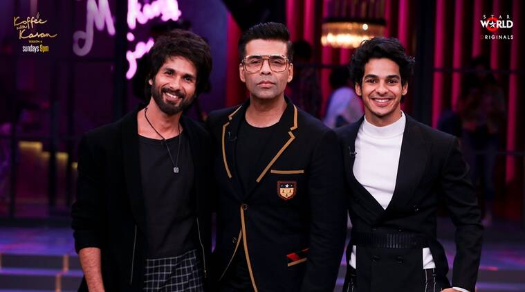 'Koffee With Karan': Shahid Kapoor's love for Ishaan Khatter is unmissable!