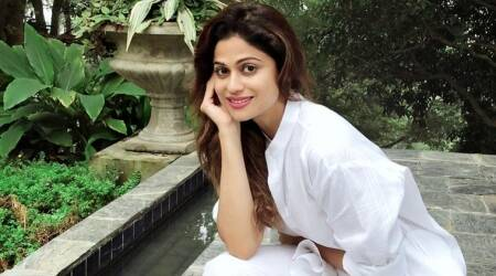 shamita shetty accident
