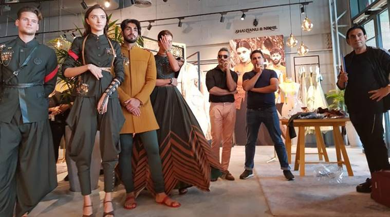 Shantanu And Nikhil Are Lakme Fashion Week Summer Resort 2019 Grand Finale Designers Lifestyle News The Indian Express