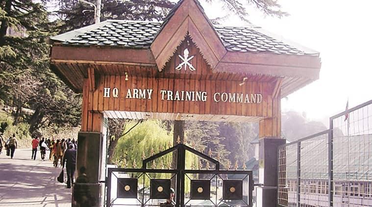 Army Training Command Shimla, ShimlaArmy Training Command, Shimla ARTRAC, ARTAC Shimla, Shimla Indian army command, Indian express, latest news