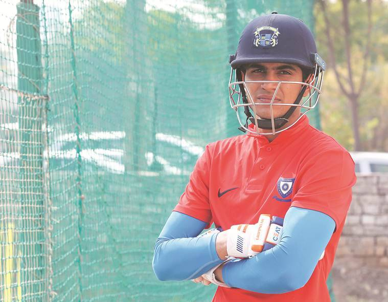 shubman gill, gill, shubmann gill debut, u-19 world cup, india tour of new zealand, india vs new zealand, new xealand vs india, cricket news, sports news, indian express news