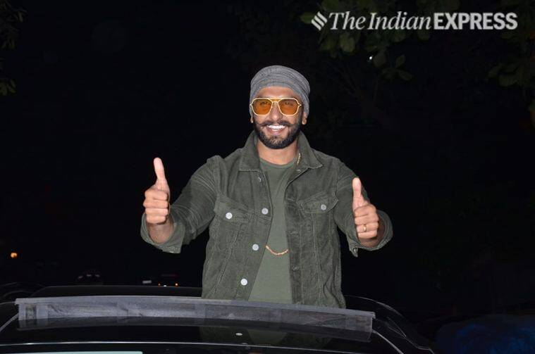 ranveer singh at simmba success party