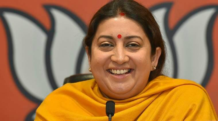 Smriti Irani, uri, the surgical strike, movie on uri attack, movie on surgical strike, movie show, Lok sabha news, indian express