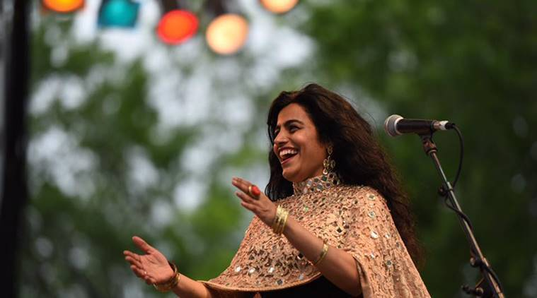 Hindustani classical singer Falguni Shah, Indian nominee at the Grammys, singer-songwriter Falu, New York-based Falguni Shah aka Falu, Priti Sagar, RD Burman's hits, The Beatles, Gujarati folk music, indian express, indian express news