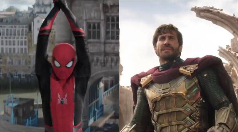 spider far from home trailer