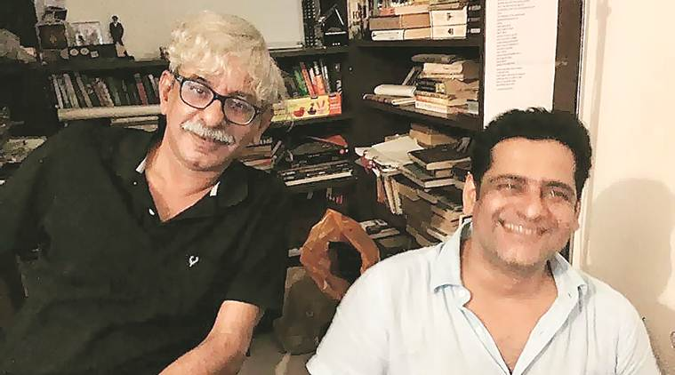 Raghavans, filmmakers and brothers, at Express Adda today