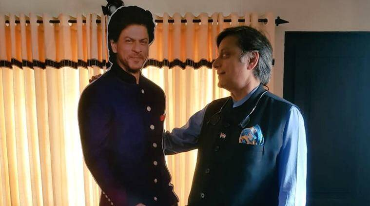 Shah Rukh Khan, shashi tharoor, chennai express, munnar hotel srk, srk chennai express hotel room, shashi tharoor srk hotel room, funny news, entertainment news, indian express