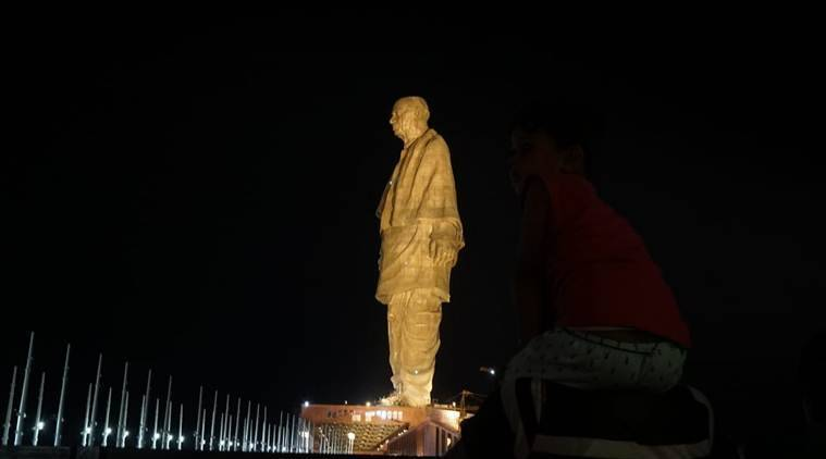 Statue of Unity, Statue of Unity Gujarat, Gujarat Statue of Unity, SoU, India news, Indian Express