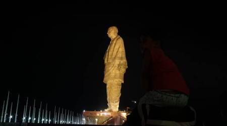 statue of unity, sardar valabhai patel statue of unity, statue of unity sold, statue of unity sold on olx, olx, case filed against selling of statue of unity, indian express news