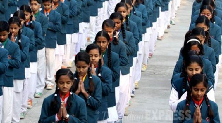 Kendriya Vidyalaya morning prayer, Kendriya Vidyalaya prayer, Kendriya Vidyalaya supreme court, sanskrit prayer in schools, sanskrit prayer Kendriya Vidyalaya, constitution bench, india news