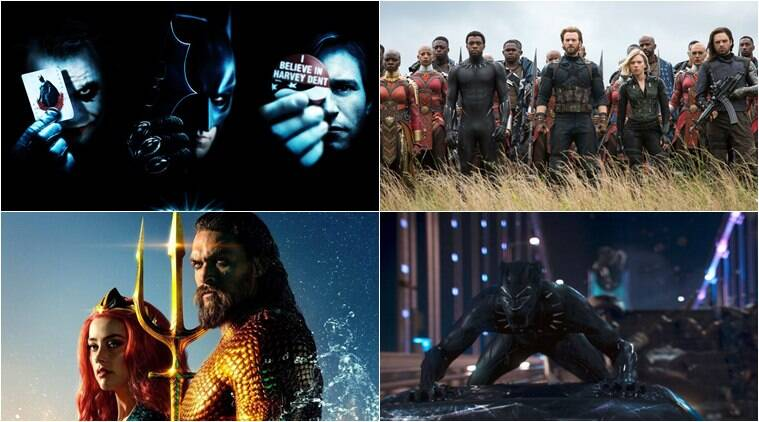 Superhero films in billion dollar club: Aquaman, Avengers Infinity War and The Dark Knight in the list
