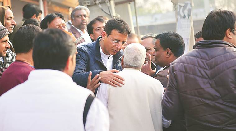 Randeep Singh Surjewala: On campaign trail, a personal connect