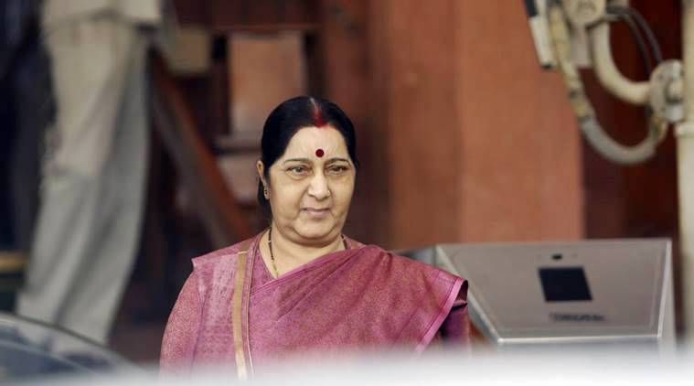 India committed to economic reconstruction of Afghanistan: Sushma Swaraj