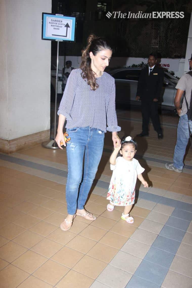 soha ali khan daughter pics