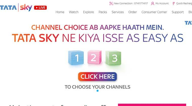 Tata Sky Dth Channel Selection Process How To Choose Channels